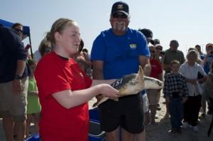 Sea turtle release03