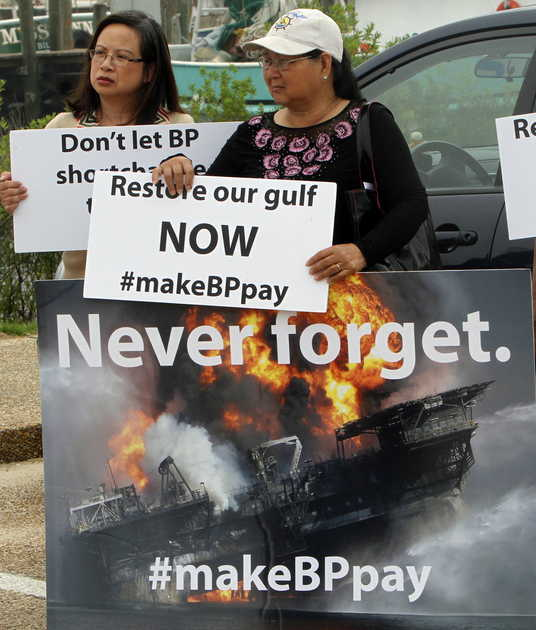 BP Oil Rally