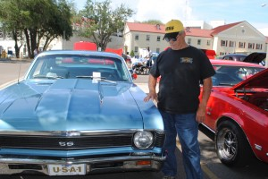 Hank Boudreaux of Pass Christian got his 1969 Chevy Nova out of the shop just before entering it into the Honoring Our Veterans Car Show at the VA Medical Center on Saturday.