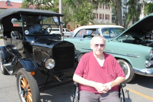 U.S. Army veteran Gary Keller checks out many of his favorite cars Saturday at the Honoring our Veterans Car Show at the VA Medical Center in Biloxi. One of his favorites was this 1925 Ford Model T.